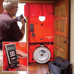 An energy audit entails a series of tests, including the blower door pressure test (shown), that tell you the efficiency of your heating and cooling system and the overall efficiency of your home. On the basis of the test results, the auditor will recommend low-cost improvements to save energy and larger upgrades that will pay you back within five to seven years. Audits take two to three hours and cost $250 to $400, but if you set one up through your utility company, you may be eligible for…