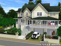 The sims 3 Sims 3 Houses Plans, Sims 3 Houses Ideas, Sims Ideas, Lotes The Sims 4, Sims Cc, Sims Building, Building A House, Sims 3 Mansion, Sims3 House