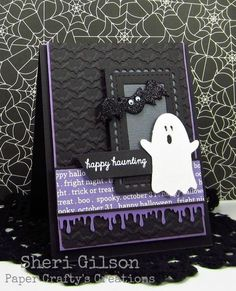 Happy Haunting, RS235 by PaperCrafty - Cards and Paper Crafts at Splitcoaststampers