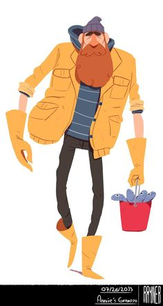 Mr. Ious Universe by Rayner Alencar, via Behance