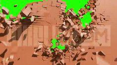 http://pixelboom.it/shop/green-screen/exploding-wall/ Green Screen Destruction Exploding Wall HD - Footage PixelBoom
