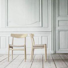 Carl Hansen CH23 er en av mange unike stoler fra Hans J. Wegner.