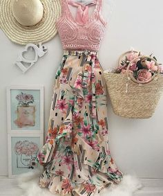 Coisas para usar bela Amo esses modelos 😍 Don't Forget Your Garden When It Comes To Home Insur Skirt Outfits, Chic Outfits, Spring Outfits, Girl Fashion, Fashion Dresses, Womens Fashion, Fashion Design, Mode Logos, Look Star