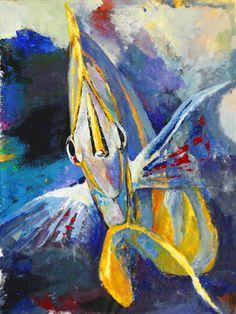 "Saatchi Art Artist Daria Bagrintseva; Painting, ""Surprised"" #art"