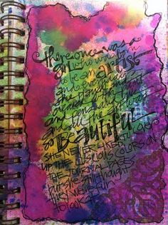 joan sharpe on art journaling :)