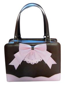 Attractive Bow PU Leather Lolita Bag