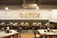 Andy Thornton at Catch Seafood Restaurant