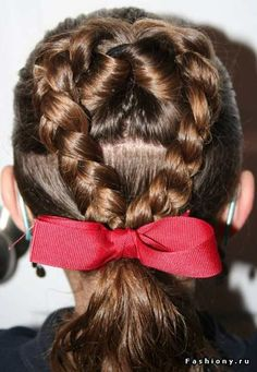 The Multi Braid Pony Hairstyles For Girls