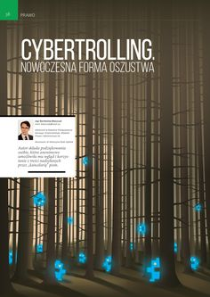 Cybertrolling  Illustration for the article posted inForward Magazine.