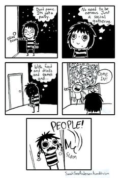 Yep. Doodle Time: Sarah See Andersen Comics