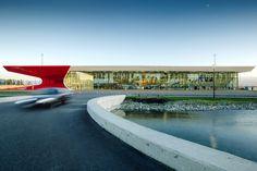 UNStudio completes kutaisi international airport in georgia