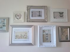 Mixed frames with craft supplies