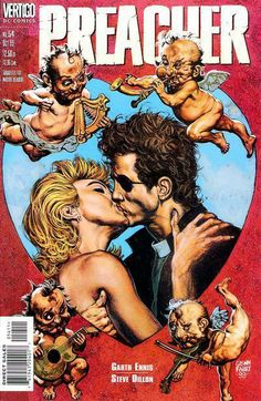 Preacher.  My introduction to the wonderful world of comics.