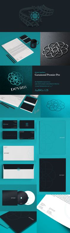 Devam branding | Designer: Triptic | #stationary #corporate #design #corporatedesign #logo #identity < < repinned by www.BlickeDeeler.de | Follow us on www.facebook.com/BlickeDeeler