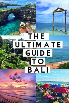 The Ultimate Bali Travel Guide – JetsetChristina