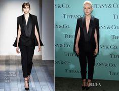 Carey Mulligan In Victoria Beckham – Tiffany & Co. Blue Book Ball