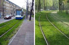PHOTOS: Europe's Grass-Lined Green Railways = Good Urban Design | Inhabitat - Sustainable Design Innovation, Eco Architecture, Green Buildin...