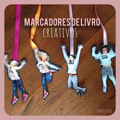 Marcador de livro criativo. Ideia presente dia das mães e dia dos pais. Crianças e arte!