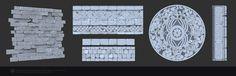 Skyforge environment - Ruins Textures, Liubov Sokolina on ArtStation at https://www.artstation.com/artwork/lzwVO