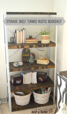 Our house, now a home: Furniture refresh November - A weathered book shelf
