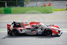 Panis Barthez Competition team brings his Ligier JSP217 on track at the Monza Circuit.  This LMP2 Sports Prototype competes in the 2017 European Le Mans Series, driven by Fabien Barthez and Timothé Buret.