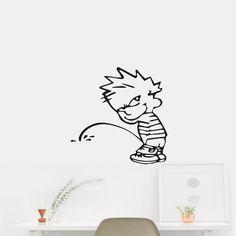 Calvin Pee # 10 Wall Art Car Sticker Decal