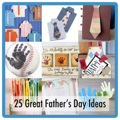 25 Father's Day Ideas