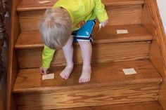 Here's a fun way to get your preschooler racing up and down the stairs to learn letters! (PS: you don't need stairs) Gross Motor Activities, Outdoor Activities For Kids, Hands On Activities, Literacy Activities, Preschool Activities, Teaching Abcs, Teaching Letters, Learning The Alphabet, Learning Through Play