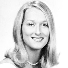 Meryl Streep in youth