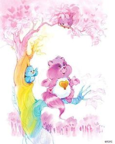Like this post if you remember the name of this Care Bears friend! Care Bear Tattoos, Care Bears Vintage, Care Bear Party, Sisters In Christ, Old Cartoons, Classic Cartoons, Bear Art, Vintage Cartoon, Cousins