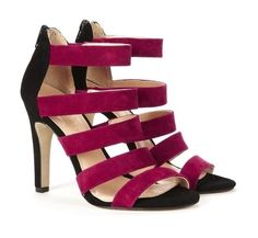 :-) I could see these as a pop of color with a black or gray  suit.