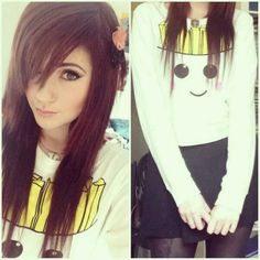 I love the color and style of hair.