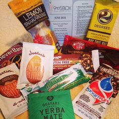 June #glutenfree #dairyfree @9to5box YUM @2 Degrees Food  @Enjoy Life Foods  @Guayaki Yerba Mate  @PocketFuelNaturals  www.9to5box.com Healthy Office Snacks, Enjoy Life Foods, Yerba Mate, Chocolate Butter, Glutenfree, Dairy Free, Snack Recipes, June