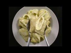 Paccheri ai Calamari con Crema di Patate e Pecorino - al.ta.cucina