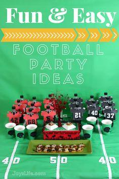 Fun & Easy Football Party Ideas | Joy's Life