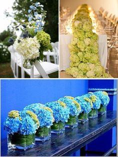 Wedding Hydrangeas |