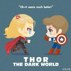 Loki The Dark World Chibi- but really though, thats the quote they went with? Avengers 2012, Marvel Avengers, Marvel Comics, Loki Thor, Tom Hiddleston Loki, Wolverine, The Dark World, Batman, Marvel Cinematic Universe