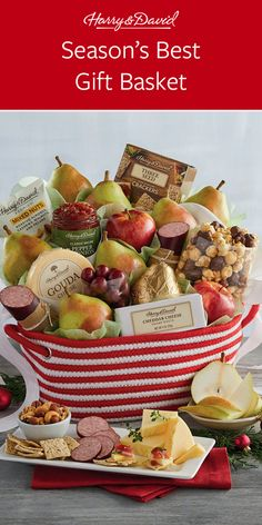 Use Harry & David Christmas gift delivery to celebrate this Christmas! Shop our Christmas gift baskets filled with fresh fruits, wine, desserts and Cheese Snacks, Meat And Cheese, Moose Munch, Famous Chocolate, White Cheddar Cheese, Chocolate Covered Cherries, Snacks To Make, Christmas Gift Baskets, Fresh Fruit
