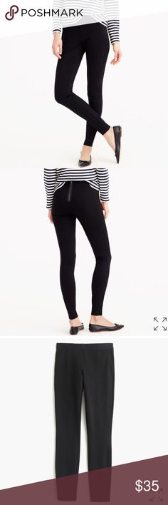 J. Crew Black Pixie Pant Sz 4 EUC J. Crew Black Pixie Pant Sz 4 EUC. Worn only a few times, in perfect condition. Sadly J. Crew is clearing out this style now. J. Crew Pants Skinny