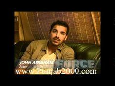 Punjab2000.com - John Abraham interview on Force