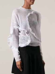 Chloé Ruffled Panel Sweater