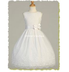 Find a wide selection of First Communion Dresses and Suits plus all of the accessories to make that special outfit memorable at Children's Boutique. FREE SHIPPING on orders over $99