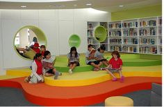 I found these photos of a school library in (what I think is) Thailand. I just love the simplistic, clean design! [gallery] Photos courtesy of Creative Commons licensing from: School Library Design, Kids Library, Dream Library, Classroom Design, Library Lessons, Primary School, Elementary Schools, Elementary Library, Kindergarten Design