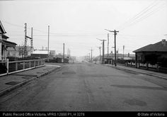 Normanby Ave rail crossing Aug 1967.  Looking east.  PROV collection.