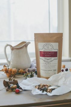 Northwest Berry Tea • Made With Only 100% Organic, Fair Trade Herbs • Handcrafted in Spokane, Washington • Artisan Blend From Winterwoods Tea Company • Collaboration with Starvation Alley Farm in Long Beach, Washington for Organic Cranberries • Blended by Hand in Small Batches • Loose Leaf Blend • Gluten Free/Vegan • Herbal Tea • Makes 25-30 Cups of Tea Ingredients • Organic Red Raspberry Leaf • Organic Washington Grown Cranberries • Organic Lemon Grass • Organic Hibiscus •...
