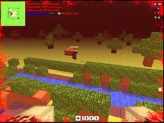 Blockade 3D - Zombies Gameplay 1 - Blockade 3D is a free [F2P] First Person Shooter [FPS] MMO Game taking place in an editable procedural cubic world