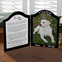 Pets In Heaven Personalized Photo Plaque