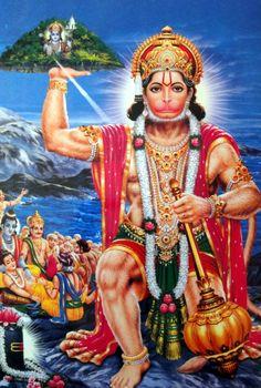 Hanuman Jayanthi festival is celebrated on different days in different parts of india. Hanuman Images, Hanuman Photos, Krishna Pictures, Hanuman Jayanthi, Indiana, Hanuman Wallpaper, Lord Murugan, Durga Goddess, Durga Maa
