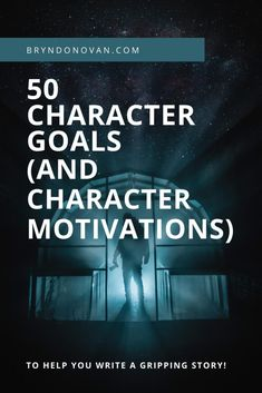 Goals and character motivation are essential to strong plotting. Get inspiration here—or use them as writing prompts! #character desires list #character goal examples #character goal generator #character wants list Writing Prompts For Writers, Writing Advice, Writing Resources, Writing A Book, Writer Tips, Make New Friends, Writing Inspiration, Book Publishing, Revenge