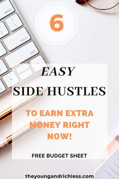 Need a side job to make extra money? Here you will find easy ways to make money this year! Make Money Now, Ways To Save Money, Money Saving Tips, Earn Extra Cash, Extra Money, Budget Sheets, Budget Holidays, Creating Wealth, Financial Goals